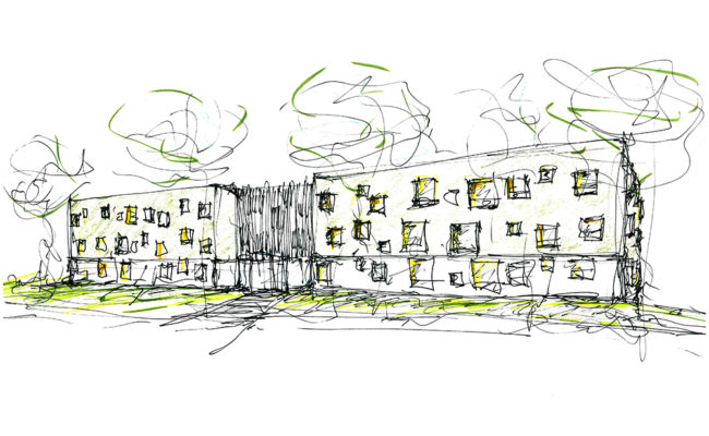 sketch for DGS Housing